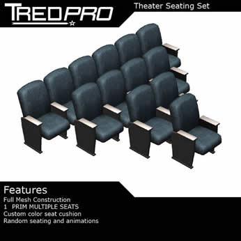 Theater Seat Set