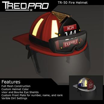 TR-50 Firefighter Helmet