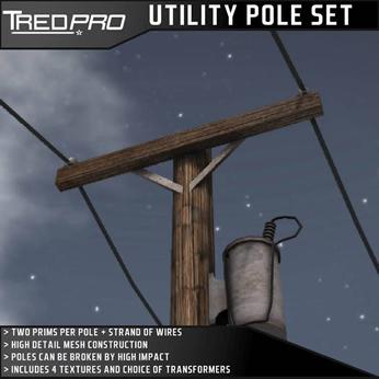 Utility Pole Set