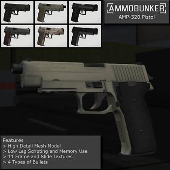 AMP-320 Automatic Pistol