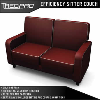 Efficiency Sitter Couch