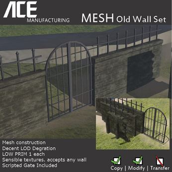 ACE Old Wall Set