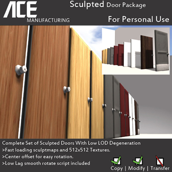 ACE Sculpted Doors