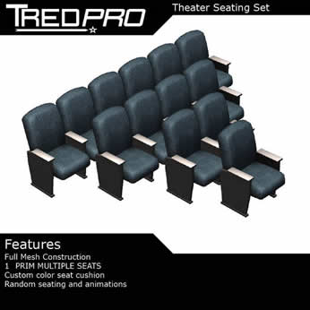 Theater Seat Set