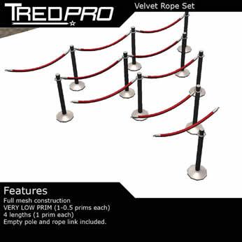 Velvet Rope Set